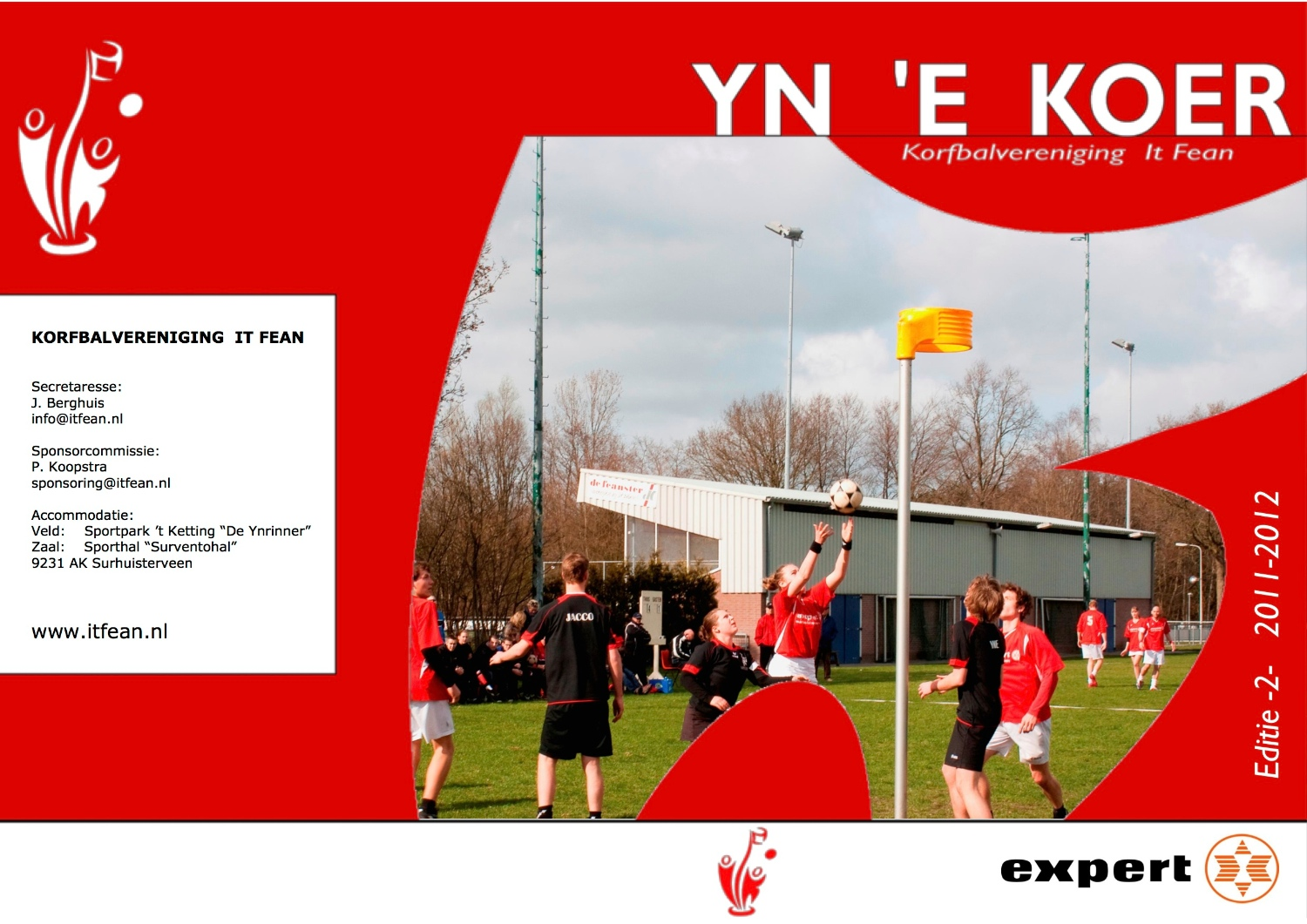 clubblad yn e koer korfbalvereniging it fean